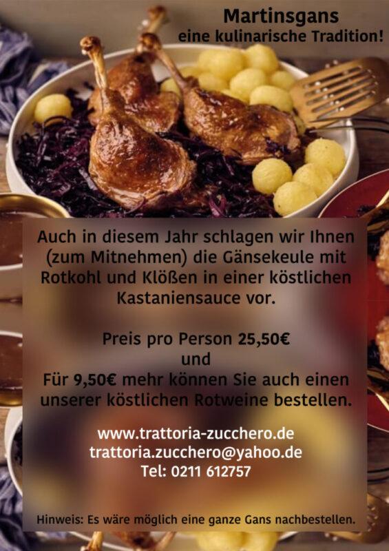 Martinsgans - Eine Kulinarische Tradition!